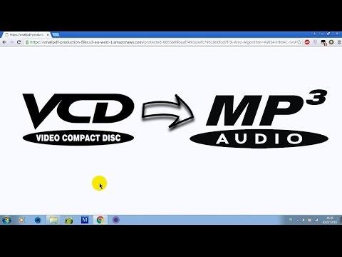Cara Merubah  VCD Ke MP3