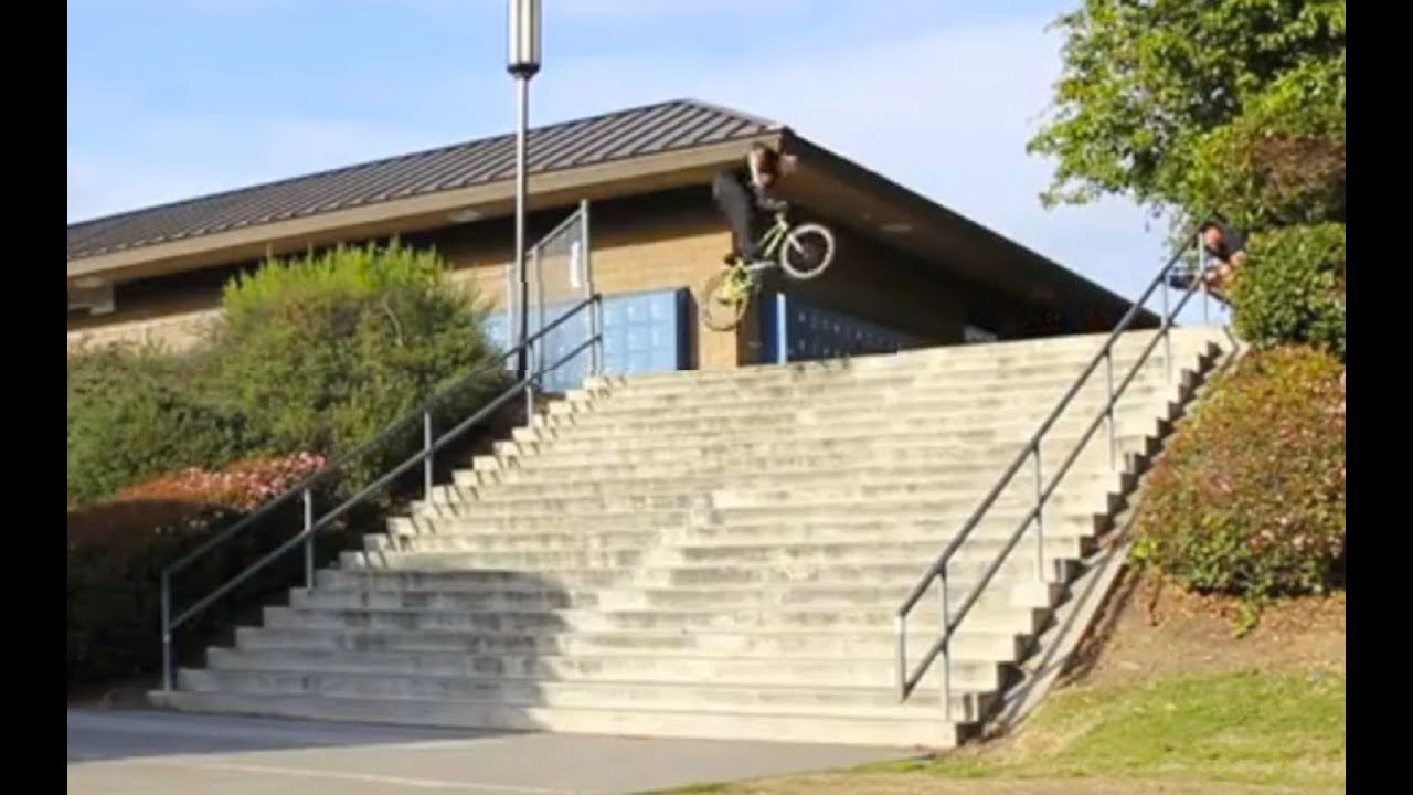 Bmx Stevie Churchill 360s El Toro 20 Stairs Youtube