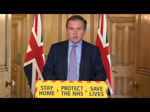 Watch again: George Eustice leads Government's daily coronavirus update