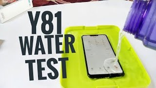 VIVO Y81 WATER TEST