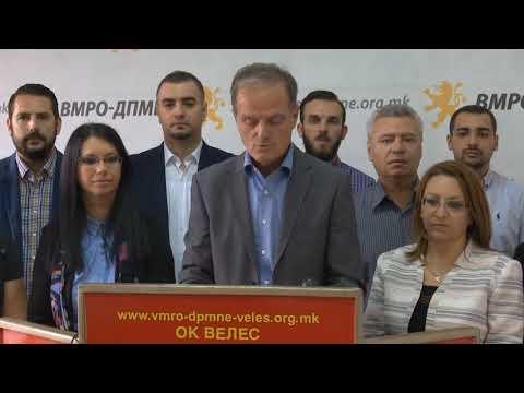 Првични предизборни ветување на кандидатите од ВМРО-ДПМНЕ од Бутел, Велес и Ѓорче Петров