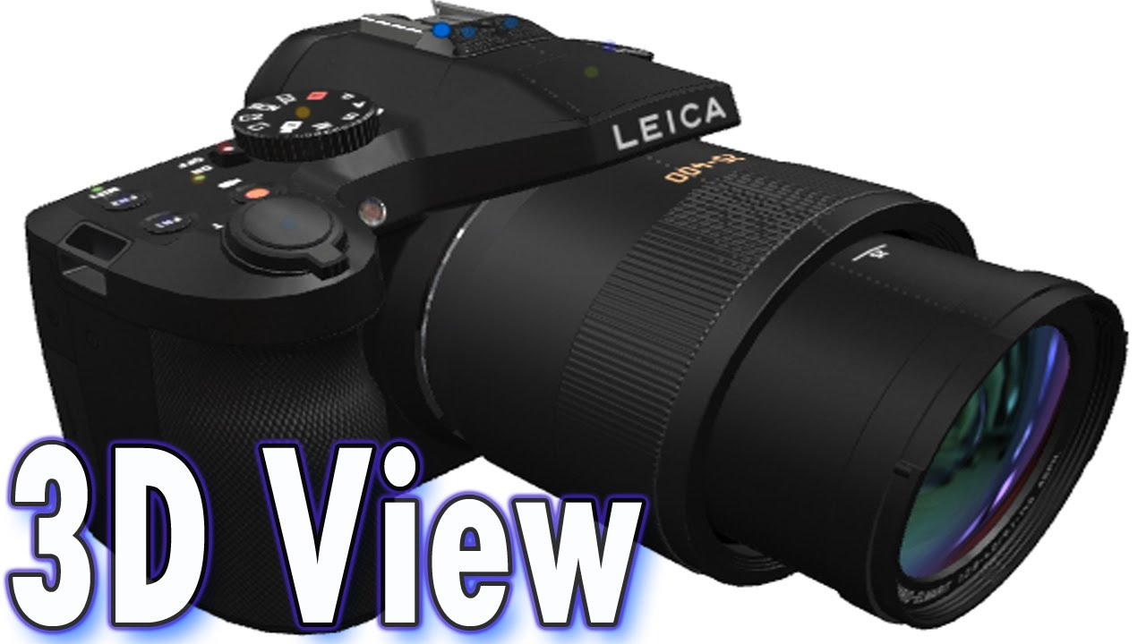 Leica V Lux Typ 114 20 Megapixel Digital Camera With 3