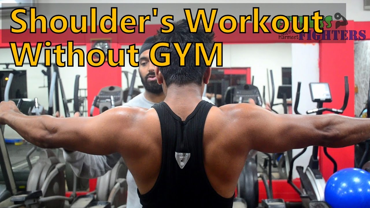 Shoulder Workout Without Gym