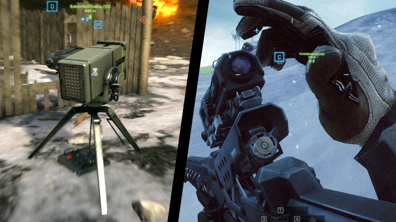 Metal Storm Launcher + Rorsch X1 Rail Gun (BF4 Final Stand) - YouTube