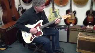1963 Jazzmaster,  Demo by Duke Levine