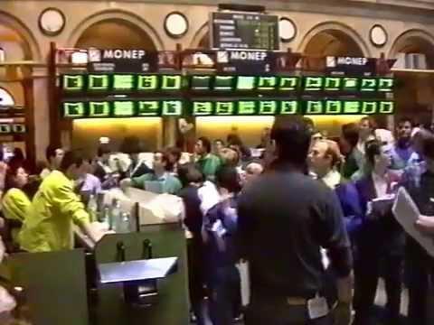 Bourse de Paris CAC 40 FUTURES (30 décembre 1994)