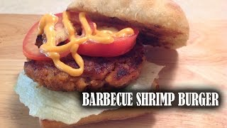 Barbecue Shrimp Burgers