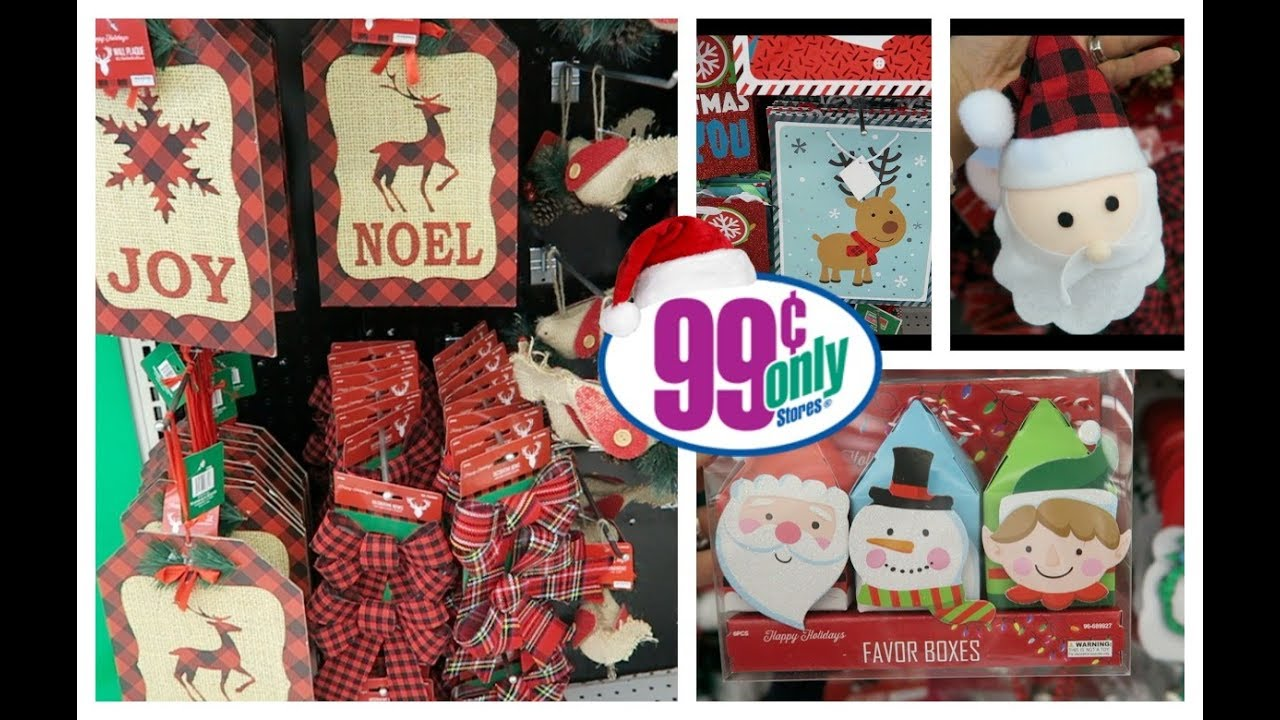 shop with me 99 cent only store new christmas decor - 99 Cent Store Christmas Decorations