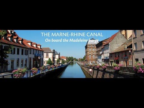 Cruise on the Marne - Rhine canal