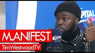 M.anifest on Ghana, Sarkodie, Burna Boy, Kwesi Arthur, conscience rap, music journey - Westwood