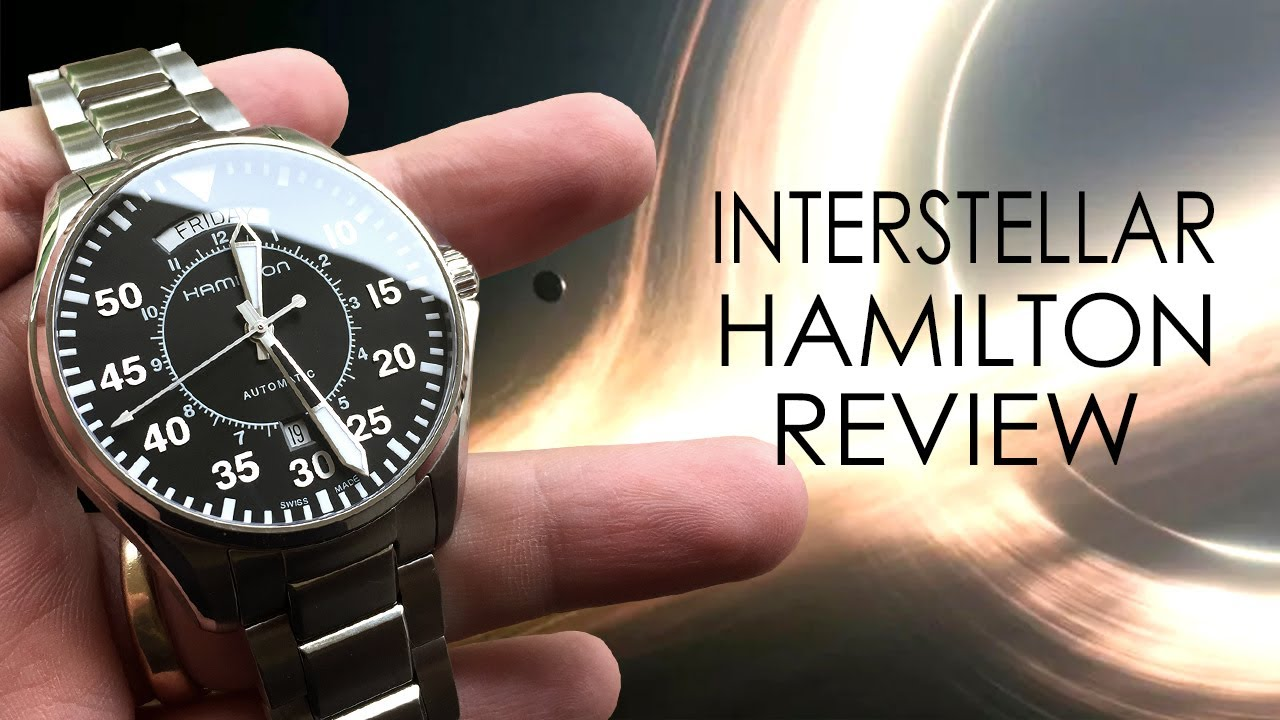 Interstellar Watch - Hamilton Pilot Day Date Auto Review - YouTube afe2bad4f393