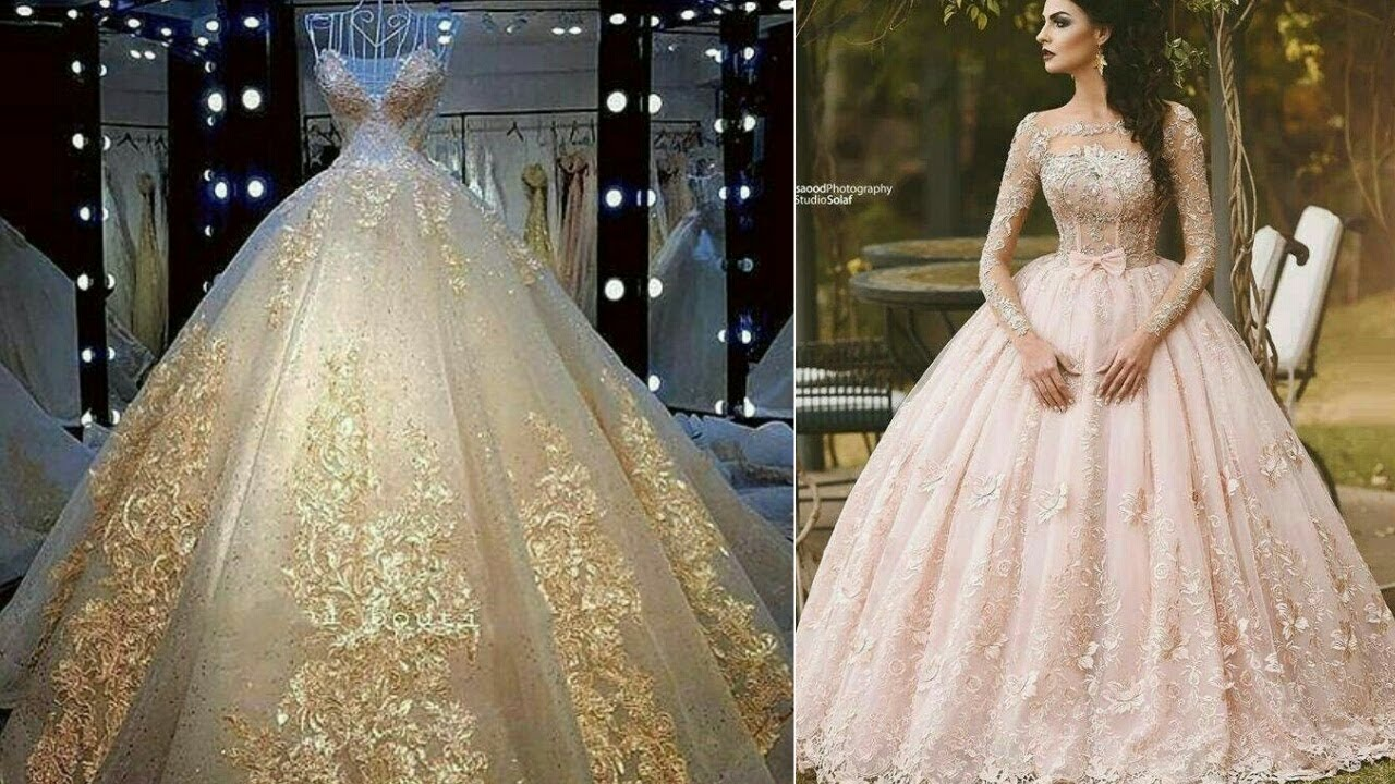 Latest Mind Blowing Fancy Maxi Gown Design Collection For Girls 2018