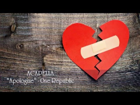Apologize (Acapella Vocal) Download - One Republic