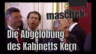 maschek WÖ_370_01 Die Abgelobung des Kabinetts Kern