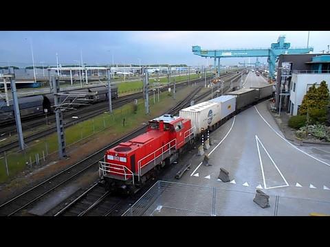 Rail Service Centre Rotterdam/ DB Schenker's 6427 + Verona shuttle