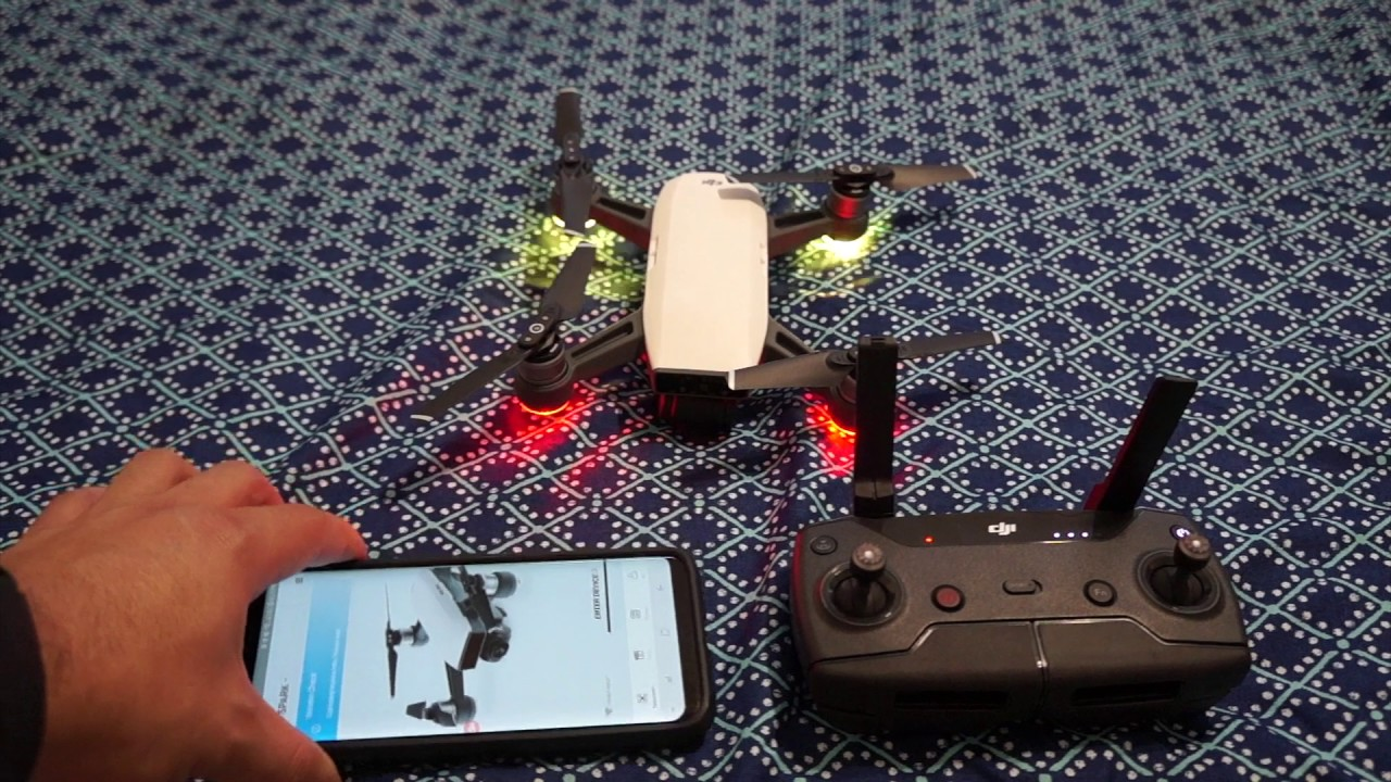 DJI Spark WiFi Pairing Repairing Can't Connect FIX