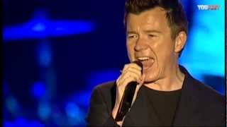 Rick Astley - Never gonna give you up AO VIVO 2012