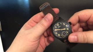 watch knife review steinhart military 42mm mercator k55k