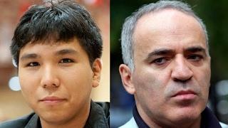 Шахматы. Со против Каспарова: атака в стиле Пола Морфи!