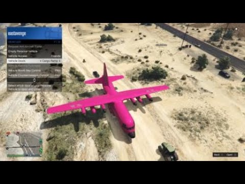 Transporting Cars With Titan in GTA Online