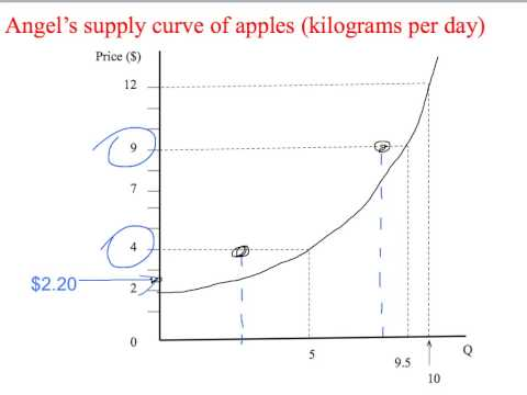 4a - The supply curve
