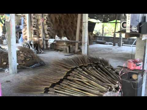 ผลงานการอบรม ผลิตสื่อวีดิทัศน์ ของกลุ่ม กศน.อบ2 การทำไม้กวาดทางมะพร้าว
