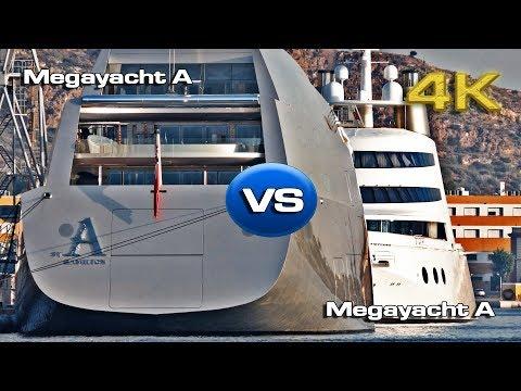 Megayacht A vs Megayacht A [4K]