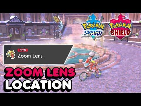 Zoom Lens Location In Pokemon Sword & Shield