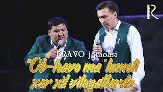 Bravo jamoasi - Ob-havo ma'lumoti xar xil viloyatlarda