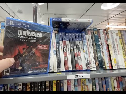 PS4 Games at my Local Goodwill