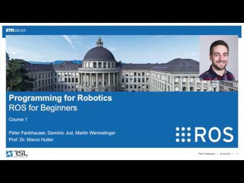 Programming For Robotics (ROS) Course 1