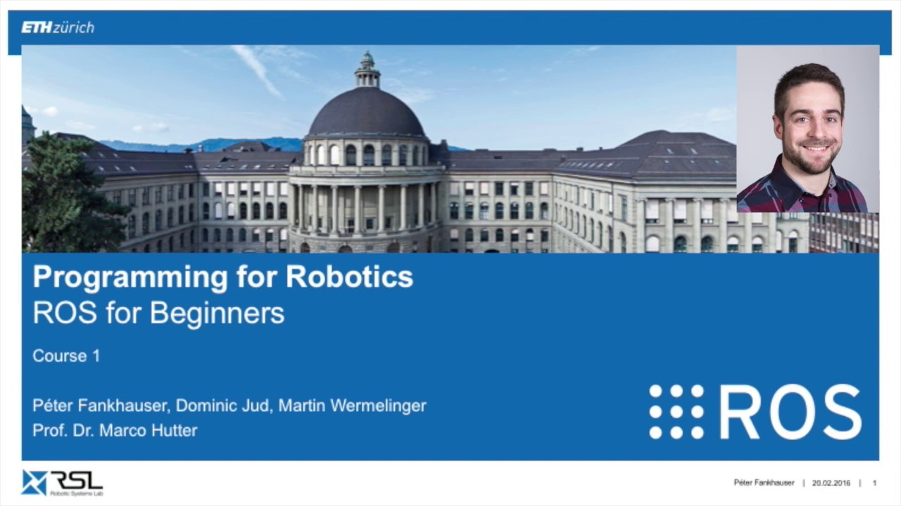Download Programming for Robotics (ROS) Course 1