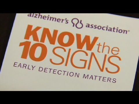 Top warning signs of Alzheimer's Disease