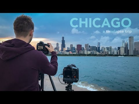 The Most INTENSE Timelapse Trip of my Life - 4 Days in Chicago