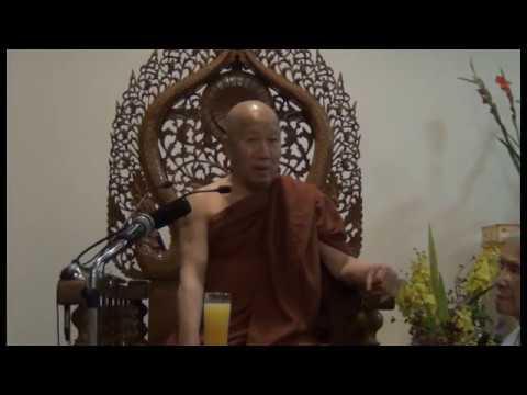 03 Sư Khánh Hỷ hướng dẫn khóa thiền Vipassanā Hà Nội ngày 5/2016 phần 2