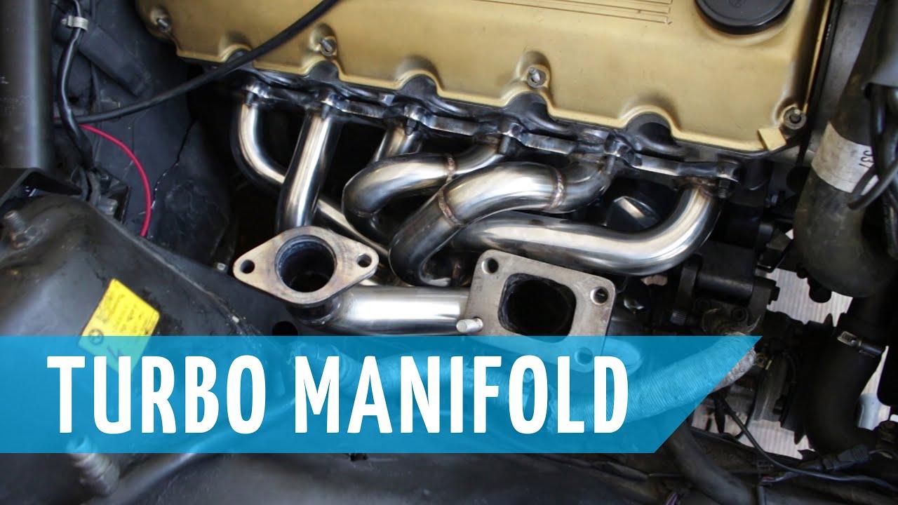 Turbo Bmw E30 Build Part 13 Turbo Manifold Adaption And Install