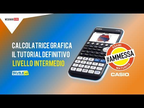 Calcolatrice grafica alla Maturità 2019: Livello Intermedio