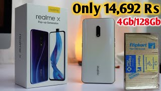 Realme X Unboxing  Only 14692 Rs  First Look  Realme X Retail Unit   Hands On First Look