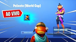 FORTNITE CUSTOM LIVE ROOM VALENDO ITEM, NEW STYLE PEIXOTO, NEW SKIN MIKA, SHOP HEUTE!