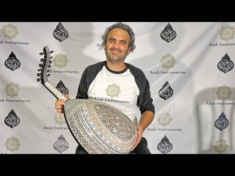 Decorated Egyptian Oud - Order Your Oud Today! Shams El Shamosi