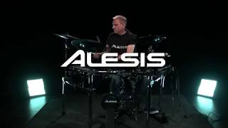 Alesis DM10 MKII Pro Electronic Drum Kit - kit sounds | Gear4music demo