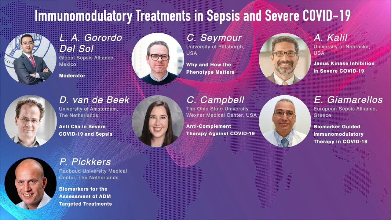 WSC 2021 – Immunomodulatory Treatments in Sepsis and Severe COVID-19 (Session 14)