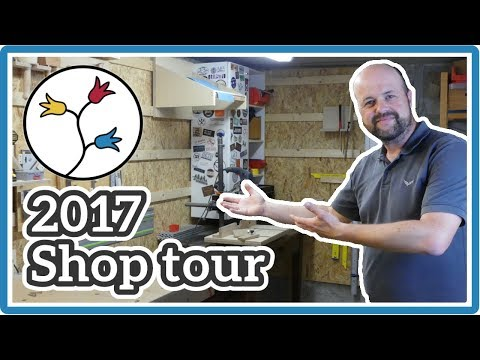 WOODWORKING SHOP LAYOUT – Shop Tour 2017 | DIY workshop ideas