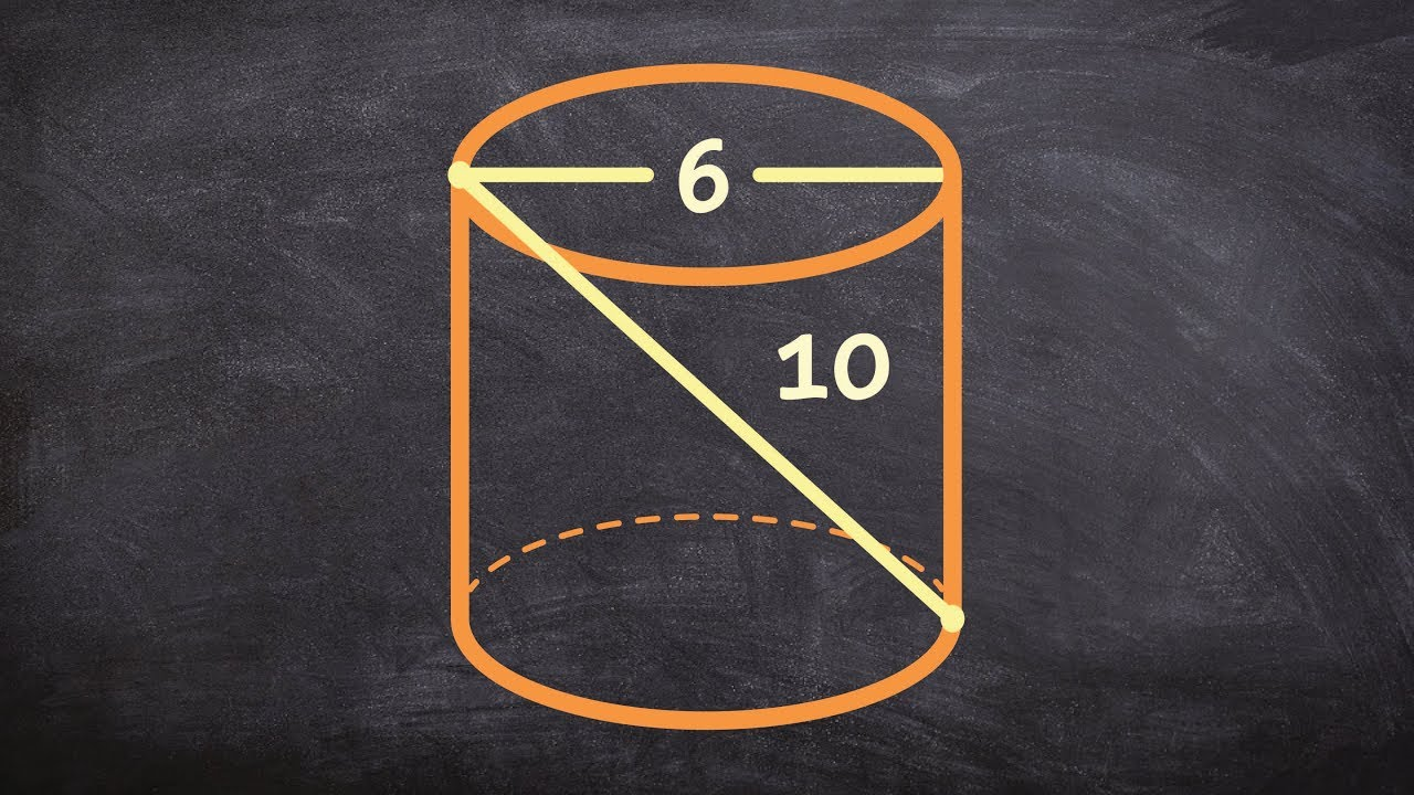 Geometry  How To Find The Volume Of A Cylinder When Not Given The Height