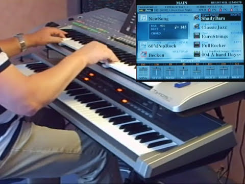A Hard Days Night From THE BEATLES On Yamaha Tyros 3 And