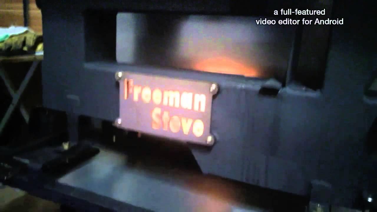 Wood pellet rocket stove DIY(펠렛로켓스토브 제작) - YouTube