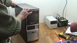 Компьютер мелкий ремонт, чистка, замена термопасты