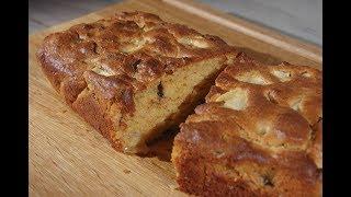 Юлия Высоцкая — Кекс на арахисовом масле с яблоком и шоколадом
