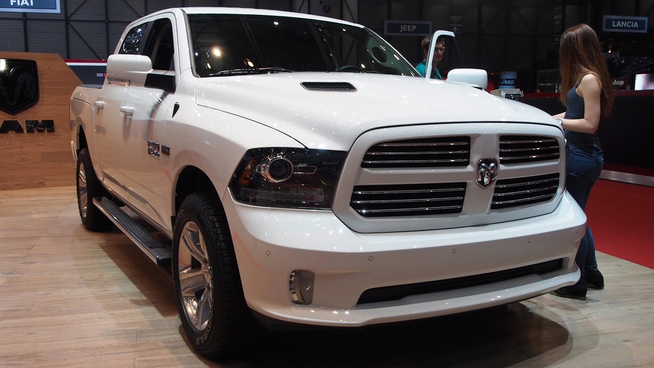 2014 Dodge Ram 1500 HEMI 5.7 Liter   Exterior And Interior Walkaround    YouTube