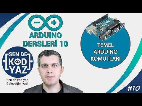 10- Arduino Temel Eğitim Fonksiyonları Setup Loop PinMode, DigitalWrite Ve Delay